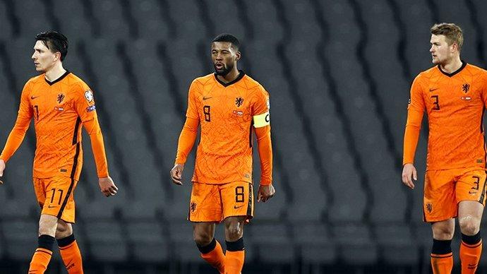 Нидерланды проиграли Турции в матче отбора на ЧМ-2022. Йылмаз сделал хет-трик
