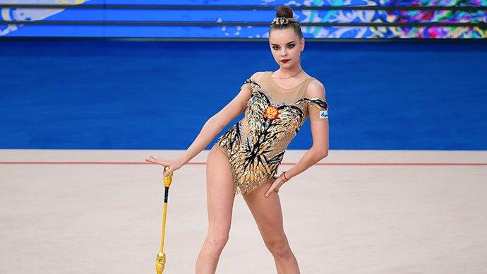 Дина Аверина одержала победы во всех упражнениях на этапе Кубка вызова в Москве