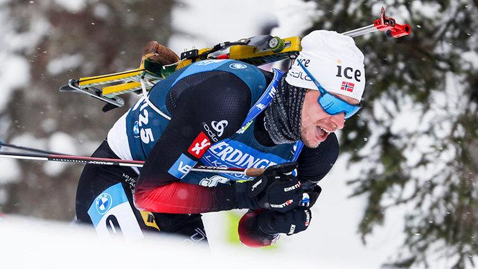 Легрейд обогнал Бё в гонке преследования в Эстерсунде, Гараничев — 12-й