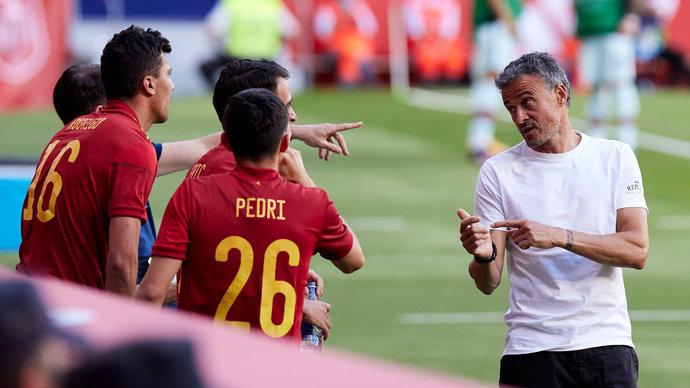 Луис Энрике: «Испания набралась опыта по ходу Евро»