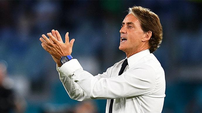 Роберто Манчини: «Сборная Италии сыграла безупречно в матче с Бельгией»
