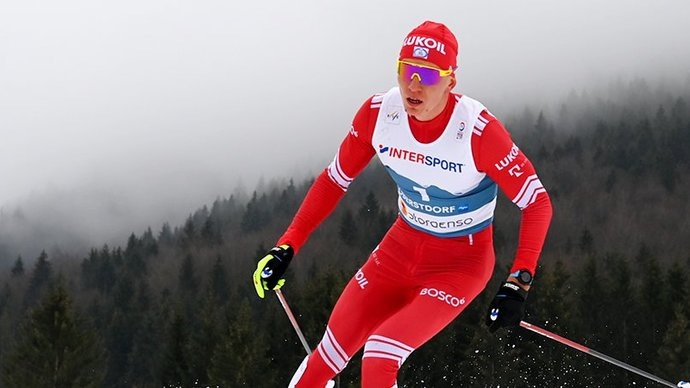 Александр Большунов: «Когда выкатывался на финишный спуск, появились слезы на глазах»