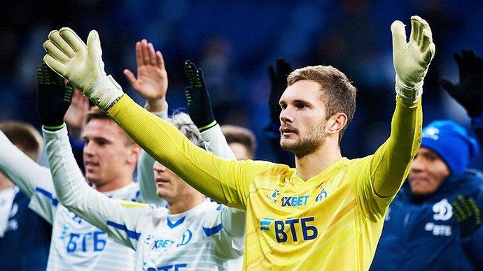 Вратарь «Динамо» Лещук: «Большая проблема в России, что у нас всегда ругают за ошибки»