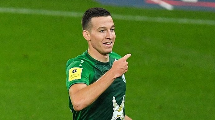 «Рубин» на последних минутах вырвал победу у «Зенита», Дзюба не забил пенальти