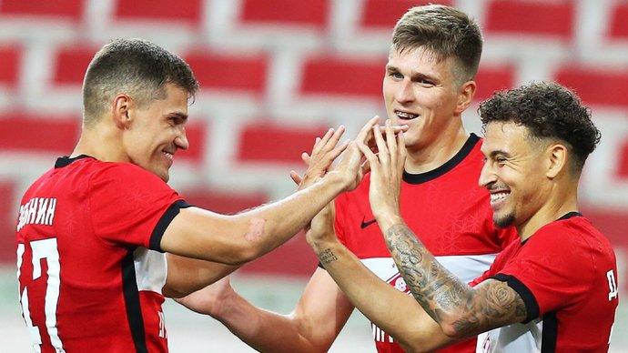 На матч «Спартака» с «Бенфикой» в ЛЧ будет допущено до 3 тысяч болельщиков