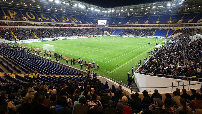 «Ростов-Арена» сможет принять матч с «Краснодаром». Стадион примет до 5 тысяч зрителей