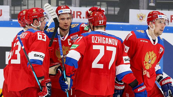 ФХР утвердила форму сборной России на чемпионат мира
