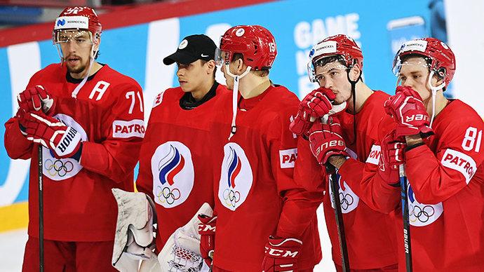 Сборная России потеряла второе место в рейтинге IIHF