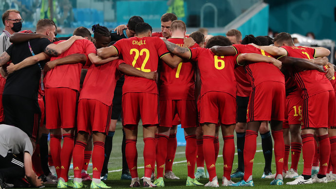 Бой за Евро: Бельгия против Португалии