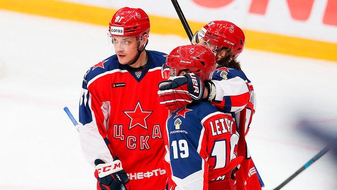 ЦСКА обыграл «Йокерит» в овертайме, команды забросили 9 шайб