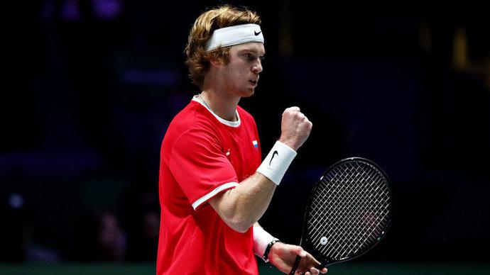 Рублев оказался в полуфинале турнира в Дохе, ни разу не выйдя на корт. Это первый случай в истории ATP