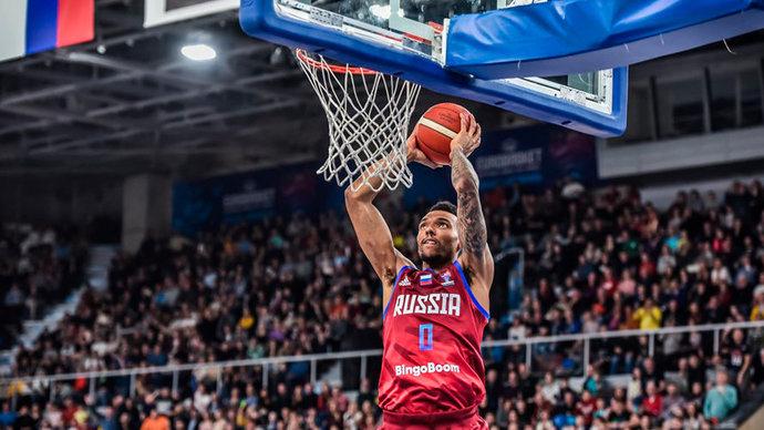 Российские баскетболисты обыграли Северную Македонию в отборе на Евробаскет