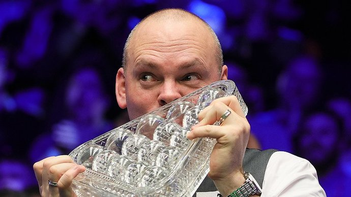 Бинхэм оформил максимум на UK Championship. Это вторая серия 147 очков за сутки