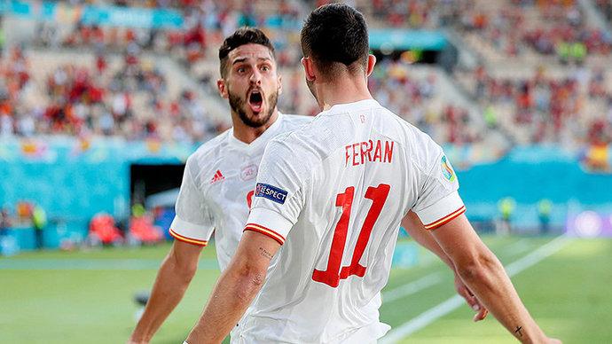 Матч между Испанией и Хорватией стал вторым по результативности в истории Евро