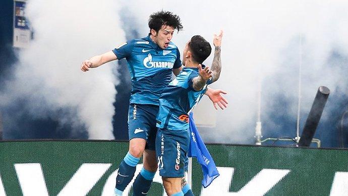 «Зенит» разгромил «Локомотив» и досрочно стал чемпионом России в сезоне-2020/21