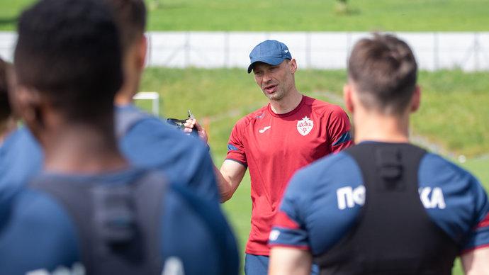Марадишвили назвал основную «фишку» главного тренера ЦСКА Алексея Березуцкого