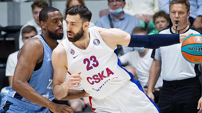 «Зенит» в двух овертаймах победил ЦСКА и сравнял счет в полуфинальной серии Единой лиги ВТБ