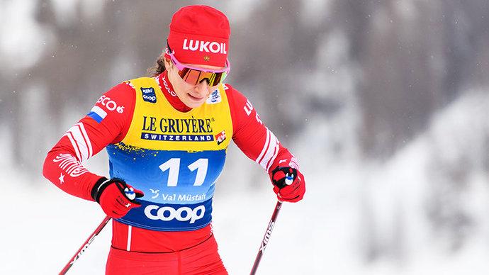 Сван выиграла спринт на этапе «Тур де Ски», Непряева — 4-я