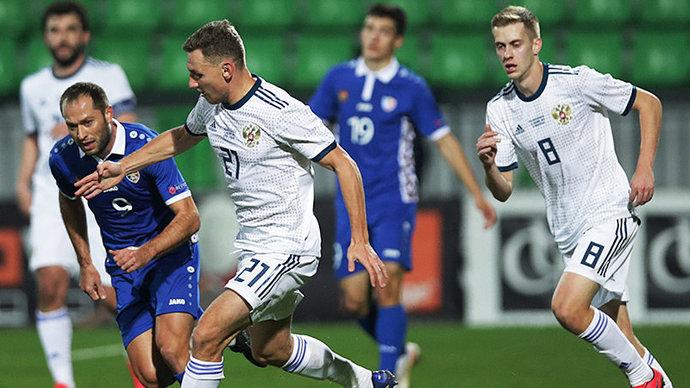 В сборной России не выявлено коронавируса после матча с Молдавией