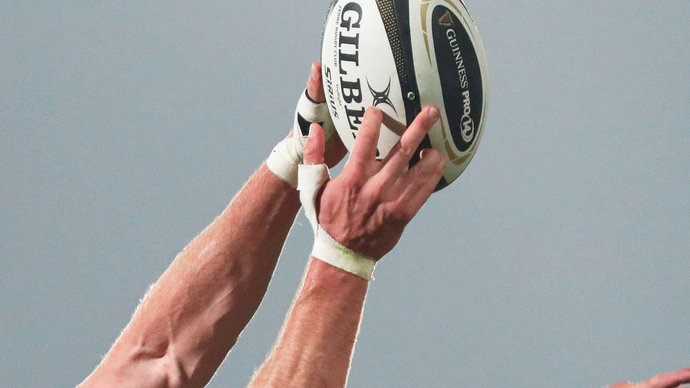 Гронковски поймал мяч, брошенный с высоты 200 метров. Это новый рекорд Гиннеса