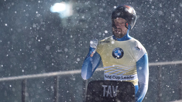 Скелетонист Третьяков завоевал серебро на ЧМ в Германии