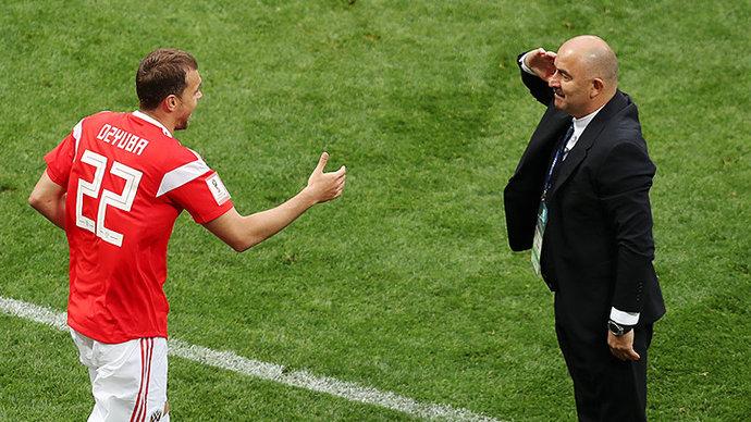 Дзюба возглавил рейтинг лучших игроков сборной России на Евро-2020
