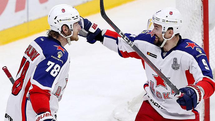 Стал известен расширенный состав сборной России для участия в Чешских играх
