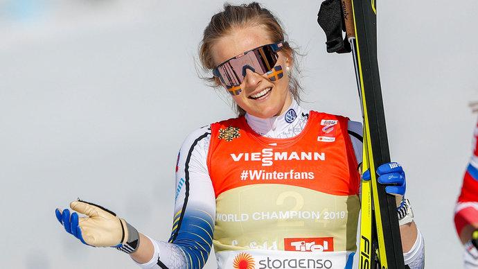 Анна Эберг победила в спринте в Идре, экс-лыжница Нильссон не попала в топ-10 в дебютной гонке в биатлоне