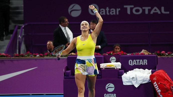 Соболенко и Мертенс — победительницы парного турнира на Australian Open