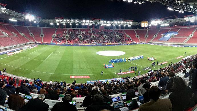 «Арсенал» сыграет против «Бенфики» на стадионе «Олимпиакоса»