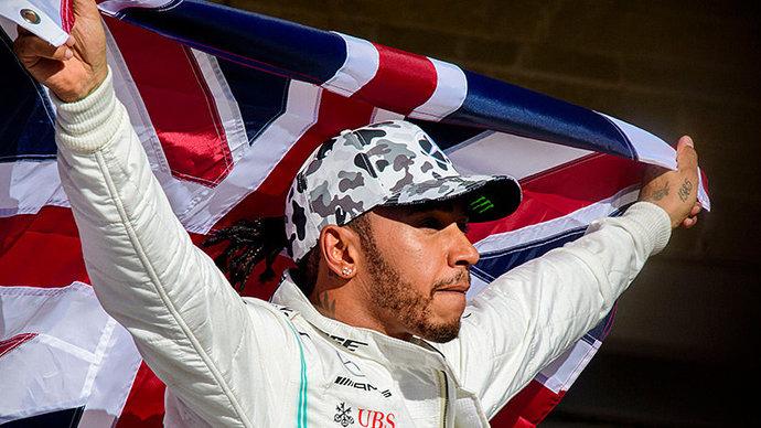 Хэмилтон признан самым влиятельным темнокожим человеком в Великобритании