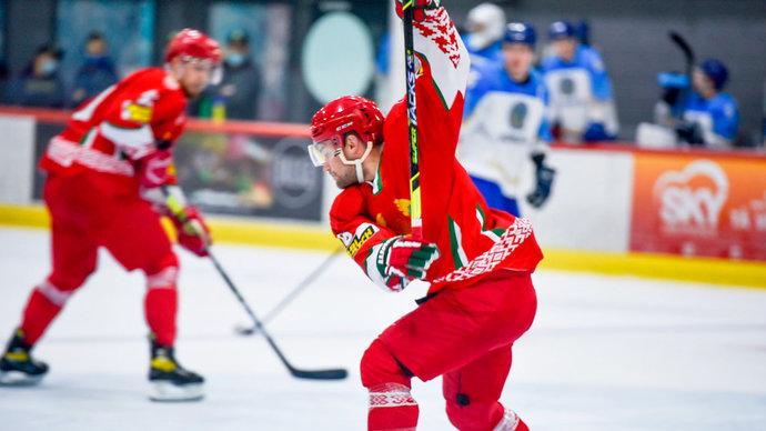 Флаг Белоруссии на чемпионате мира по хоккею заменили на оппозиционный