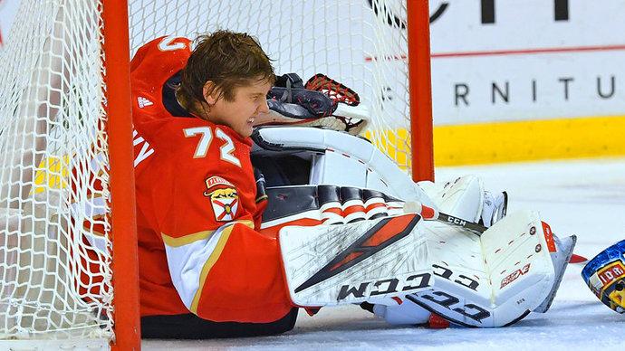 Контракт Бобровского включен в число худших в НХЛ