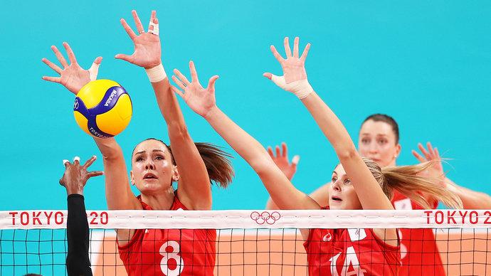 Россиянки проиграли Турции в матче Олимпиады