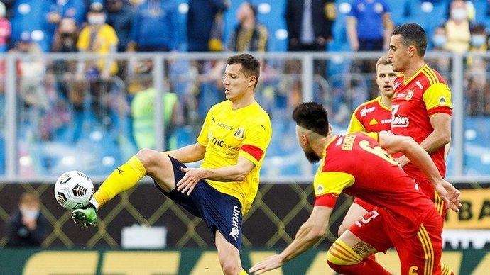 Гол Полоза принес «Ростову» победу над «Арсеналом». Туляки провели второй тайм вдесятером