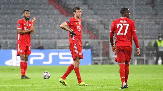 В Европе нет фаворитов. «Бавария» и «Ливерпуль» — под угрозой вылета из Лиги чемпионов