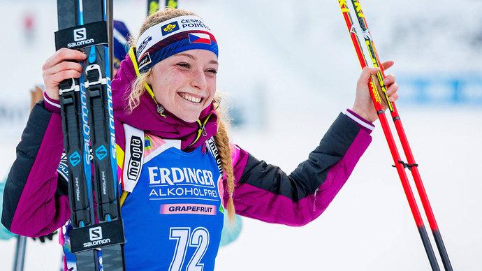 Чешка Давидова выиграла индивидуальную гонку на ЧМ в Поклюке, Миронова — 5-я