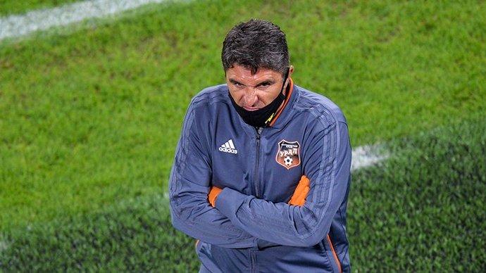 Матвеев покинул пост главного тренера «Урала»