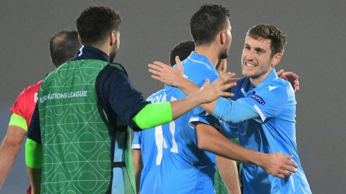 Игрок Сан-Марино расплакался во время интервью. Его сборная впервые в истории не проиграла в двух официальных матчах подряд
