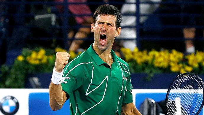 Джокович выиграл свой 18-й турнир «Большого шлема», всухую обыграв Медведева на Australian Open
