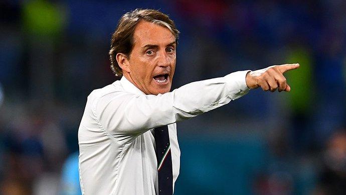Сборная Италии не пропускает на протяжении более 1000 минут под руководством Манчини