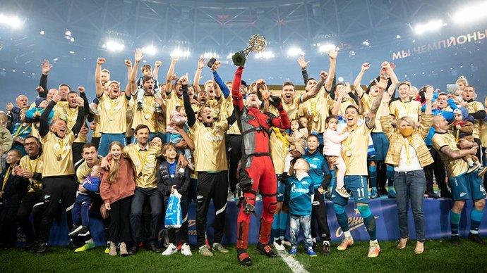 «Зенит» сыграет с «Уфой» в специальных футболках с золотым шевроном