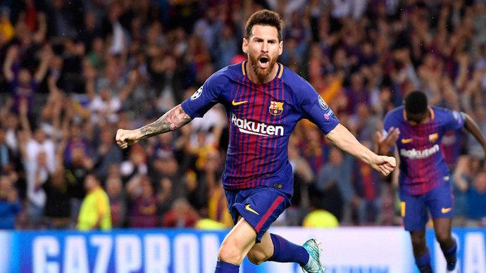 «Барселона» одержала волевую победу над «Валенсией». Месси не забил с пенальти, но затем оформил дубль