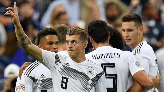 Кроос объявил об уходе из сборной Германии