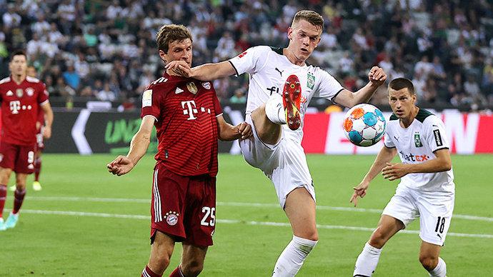 «Бавария» ушла от поражения в стартовом матче Бундеслиги против менхенгладбахской «Боруссии»