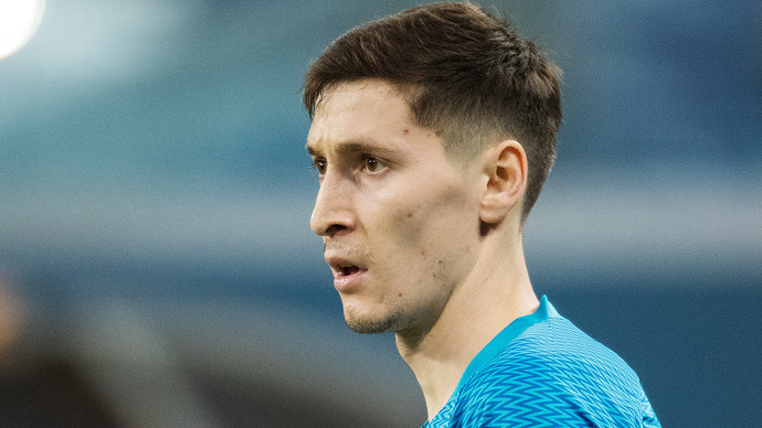 Кузяев был удален с поля в матче «Локомотив» — «Зенит»