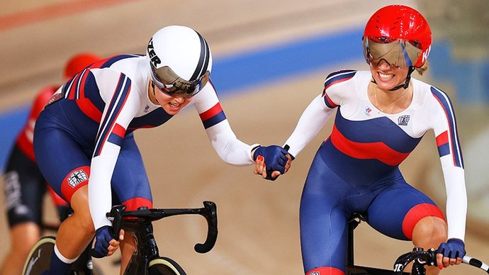 Новолодская и Хатунцева завоевали бронзу в мэдисоне на Олимпийских играх в Токио