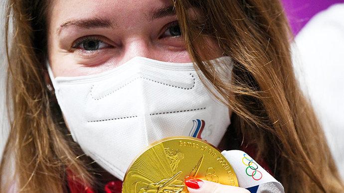 Матыцин поздравил Бацарашкину с золотом Олимпиады в Токио