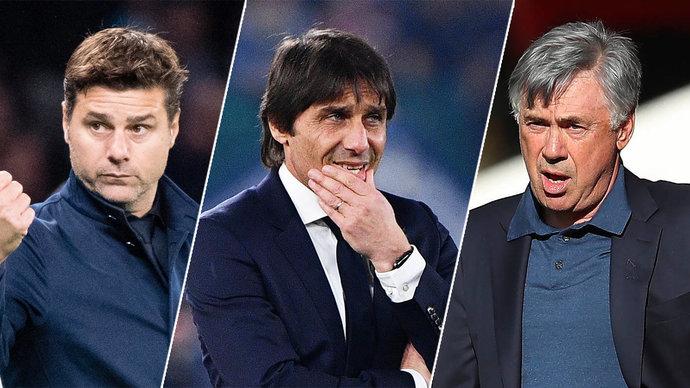 Почеттино, Конте, Анчелотти… Кто станет новым тренером «Реала»?