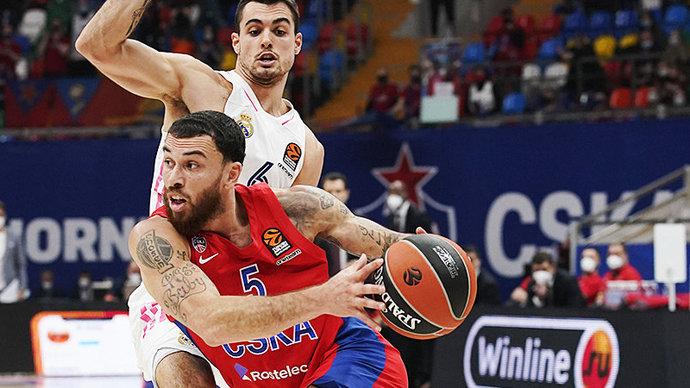 Защитник ЦСКА Джеймс в ближайшее время подпишет контракт с клубом НБА